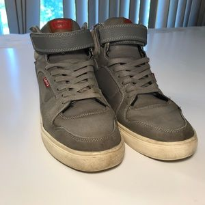 Men's stylish Levi's high tops